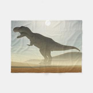 Roaring Dinosaur Small Fleece Blanket