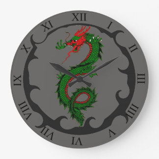 Roaring Dragon Clock