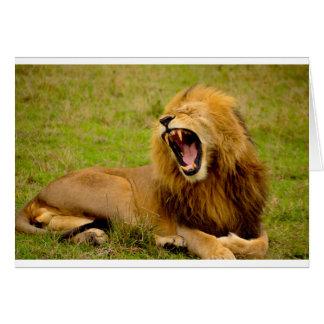 Roaring Lion Card