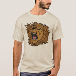 Roaring Lion Graphic Art T-Shirt