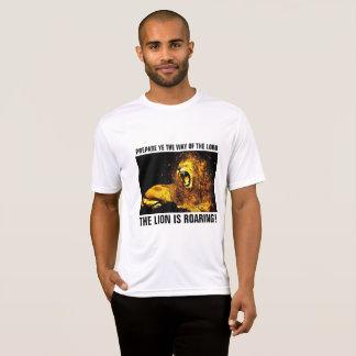 ROARING LION OF JUDAH,  CHRISTIAN T-shirts