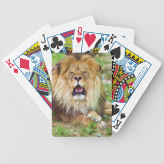 Roaring Lion Playing Cards