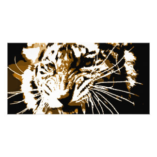 Roaring Tiger Picture Card