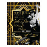 Roaring Twenties Gatsby Style Photo Booth Poster