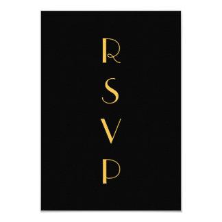 Roaring Twenties RSVP Card