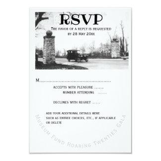 Roaring Twenties RSVP Guest Response Card
