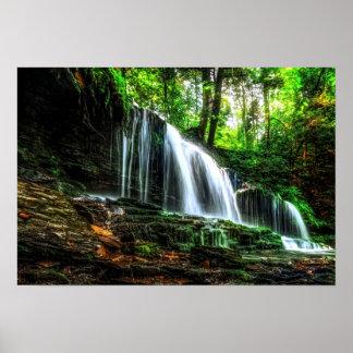 Roaring Waterfall 19x13 Poster