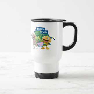 Roarsome Friends! Stainless Steel Travel Mug