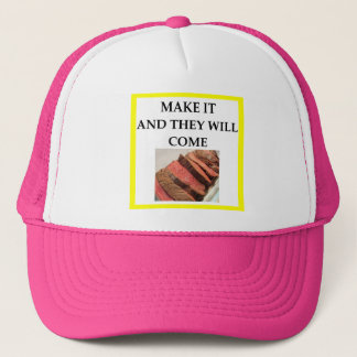 roast beef trucker hat