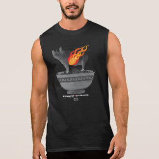 Roast Pork Belly | Black Men Sleeveless T-Shirt