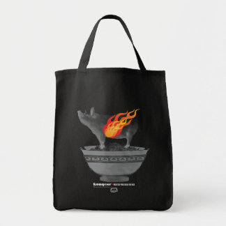 Roast Pork Belly | Black Tote Bag