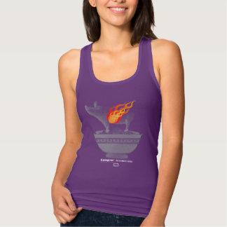 Roast Pork Belly | Purple Slim Fit Tank Top