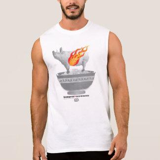 Roast Pork Belly | White Men Sleeveless T-shirt