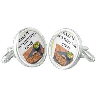 roast pork cuff links