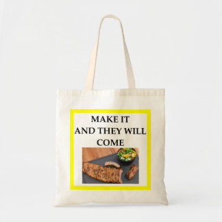 roast pork tote bag