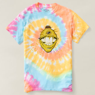 ROASTED AND BAKED tie dye and dizzy T-shirt