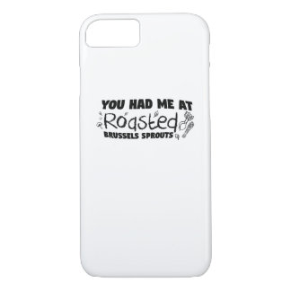 Roasted Brussels Vegetarian  Chef  Gift iPhone 8/7 Case