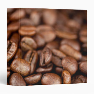 Roasted Coffee Beans 3 Ring Binder