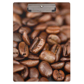Roasted Coffee Beans Clipboard