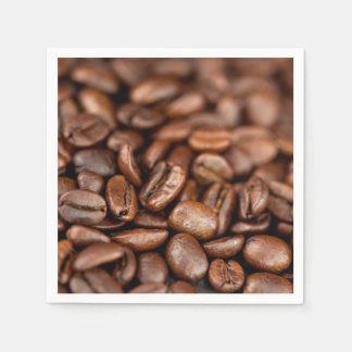Roasted Coffee Beans Disposable Napkins