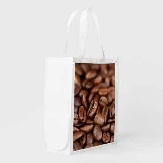 Roasted Coffee Beans Reusable Grocery Bag