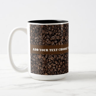 Roasted Coffee Beans Two_Tone Mugs
