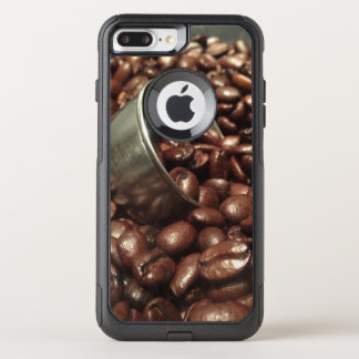 Roasted Coffee Beans With Silver Scoop Photograph OtterBox Commuter iPhone 8 Plus/7 Plus Case