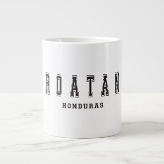 Roatan Honduras Large Coffee Mug