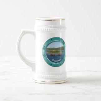 Roatan Porthole Beer Stein