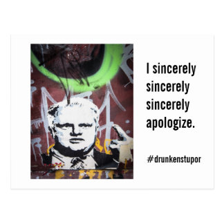 "Rob Ford Crack Mayor ""I sincerely sincerely"" Postcard"