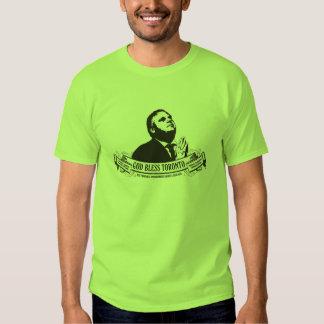Rob Ford - Dieu bénissent la conception vintage de Tee Shirts