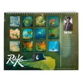Rob Kaz 2016 Calendar
