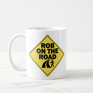 Rob on the Road Left-handed Coffee Mug