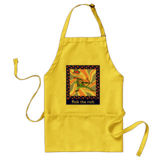 Rob the rich standard apron