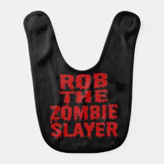 Rob The Zombie Slayer Baby Bibs