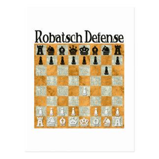 Robatsch Defense Postcard