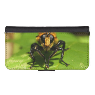 Robber Fly iPhone SE/5/5s Wallet Case