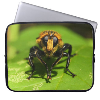 Robber Fly Laptop Sleeve