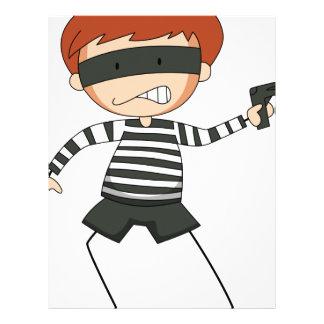 Robber Custom Letterhead