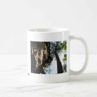 Robbers Cave Classic White Coffee Mug