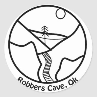 Robbers cave sticker