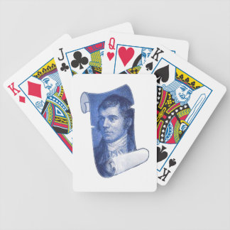 Robbie Burns Bicycle Playing Cards