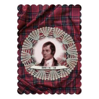 Robbie Burns Highland invitation