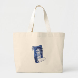 Robbie Burns Large Tote Bag