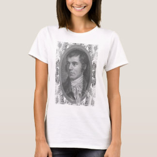 Robbie Burns Portrait (Grey) T-Shirt