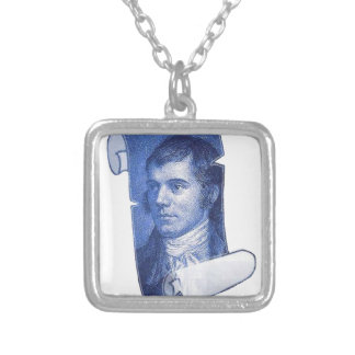 Robbie Burns Silver Plated Necklace