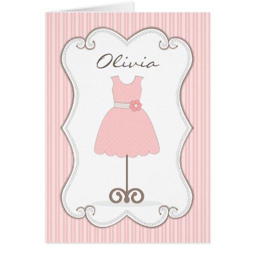 Robe assez rose serez-vous ma demoiselle de honneu carte de vœux