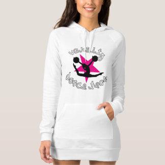 Robe de sweat - shirt à capuche d'équipe de danse t shirt