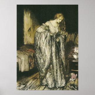 Robe d'étincelle de conte de fées par Arthur Poster
