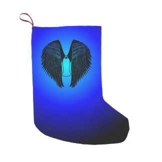 Robed Angel Small Christmas Stocking